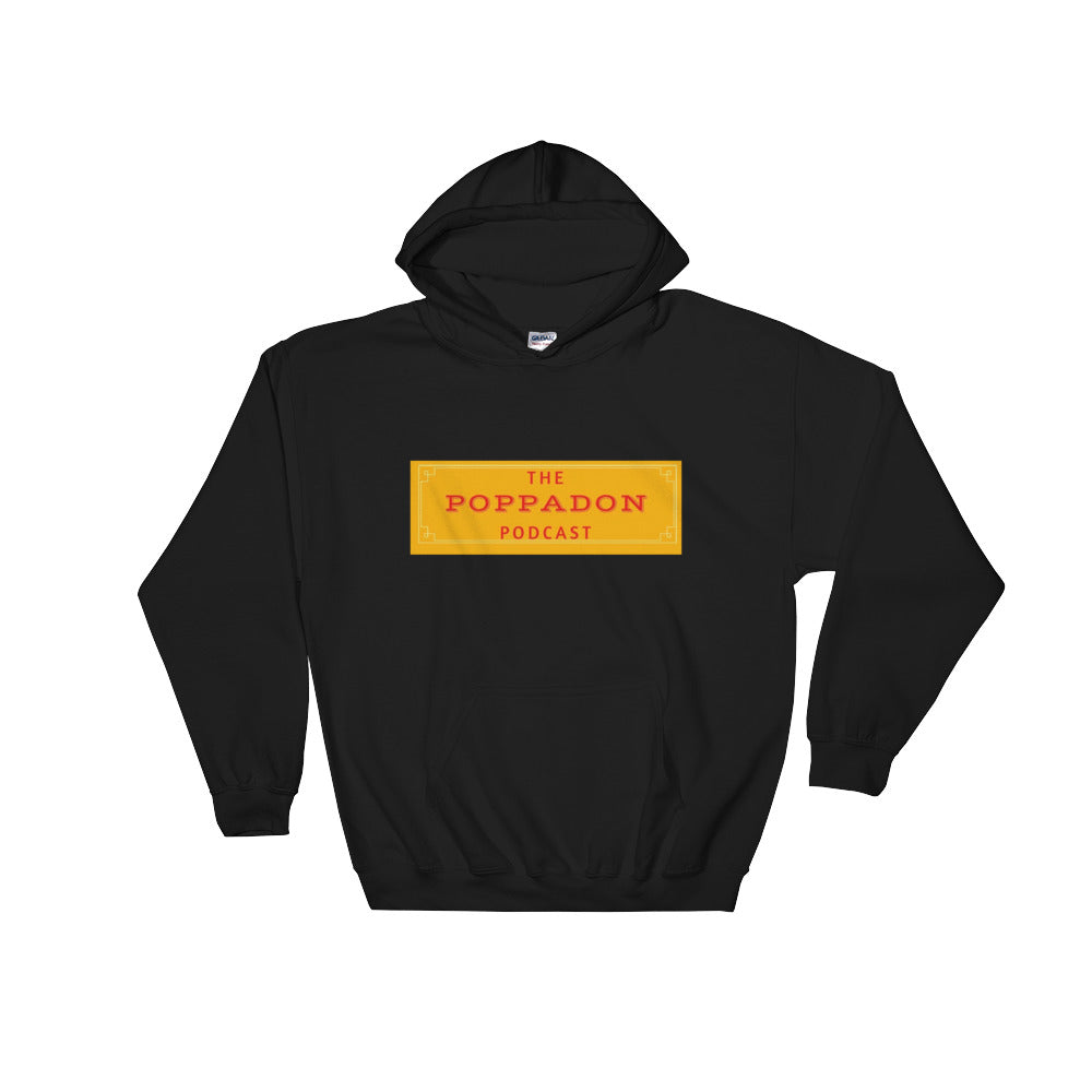 PoppaDon Podcast Hooded Sweatshirt