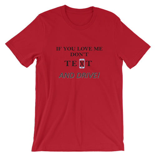 Generation Text T-Shirt - If You Love Me