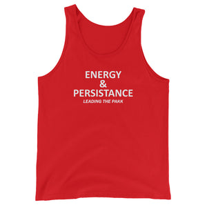 Leading the Pakk Unisex Tank Top - Energy
