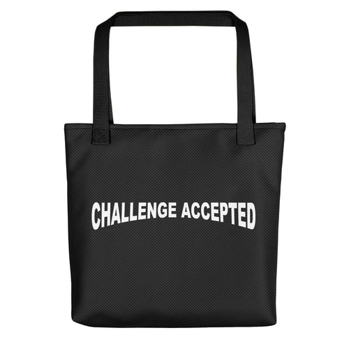 Committed 2 Fitness Tote Bag-Challenge