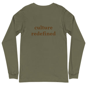Culture Redefined Unisex Long Sleeve Tee