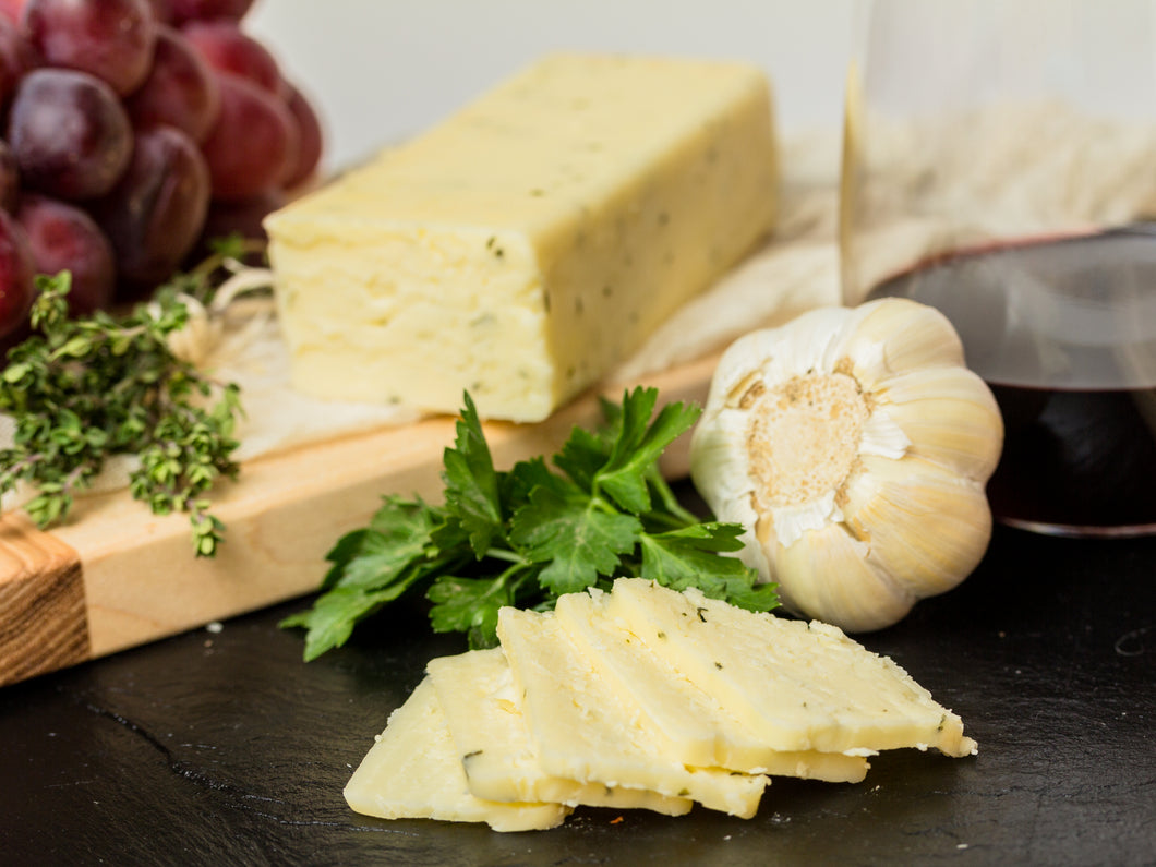 Garlic and Herb Yogurt Cheese
