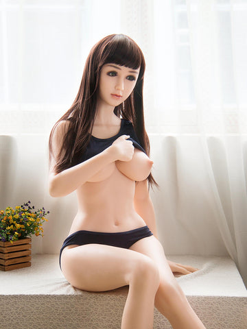 Sange Silicone: 156cm-100 %Platinum Silicone Sex Doll with Metal Skeleton
