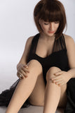 158CM-TPE Sex Doll From Sange Doll Close Eyes Girl