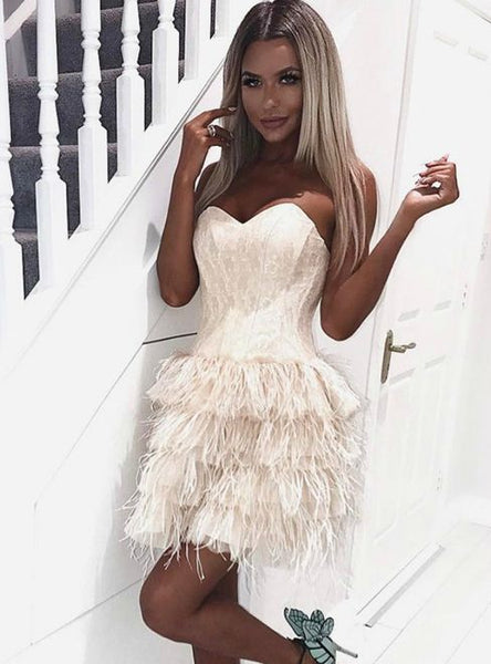 Sexy Sweetheart lace Short Cheap Cupcake Homecoming Dresses Online, TYP1065
