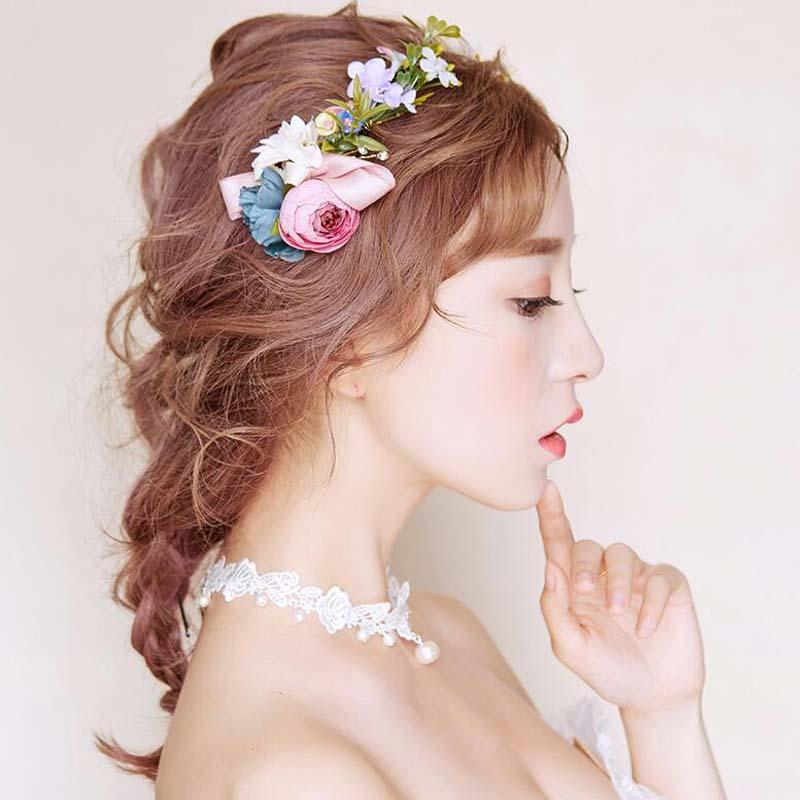 Charming Wedding Dress Accessories, Floral Bridal Headpiece, Wedding Headpiece, VB0589