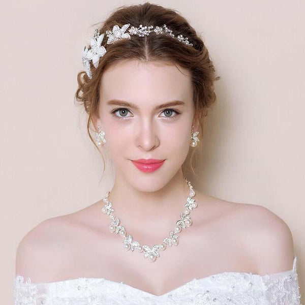 Wedding Trousseau, Bridal hair Jewelry, Wedding Headpiece, VB0596