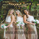 2018 Newest Sequin Bridesmaid Dresses, Charming Bridesmaid Dresses, TYP0392