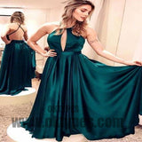 Long Floor Length Prom Dresses, Open-neck Prom Dresses, Backless Prom Dresses, Charming Prom Dresses, TYP0290