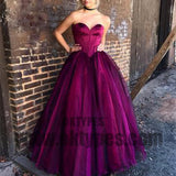 Sexy Sweetheart Bodice Corset Floor Length Ball Gowns Prom Dresses, Prom Dresses, TYP0431