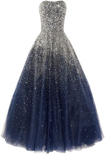 Navy Prom Dresses, Ball Gown Prom Dresses, Party Dress with Sequins, Floor Length Prom Dress, Lace up Prom Dresses, TYP0058