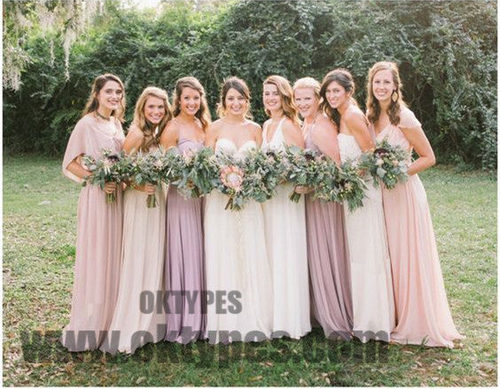 2020 Newest Bridesmaid Dresses, Chiffon Bridesmaid Dresses, Charming Bridesmaid Dresses, TYP0333