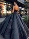 Fashion Ball Gown Spaghetti Straps Quinceanera Dress With Appliques, TYP1517
