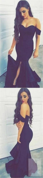 Off shoulder Prom Dresses, Mermaid Prom Dresses, Side Slit Prom Dresses, Sexy Prom Dresses, Party Dresses, Cocktail Prom Dresses, Evening Dresses, Long Prom Dress, Prom Dresses Online, TYP0020