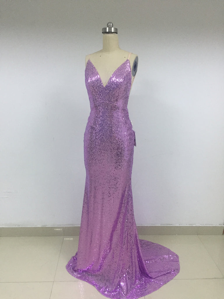 Sexy Lilac Long Sequin Prom Dresses_US4, SO015