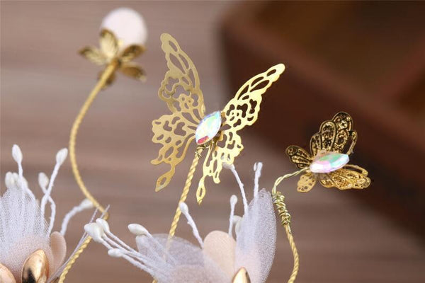Cheap Flower Wedding Headpiece, Two Color can be selected, Wedding Accessories, VB0600