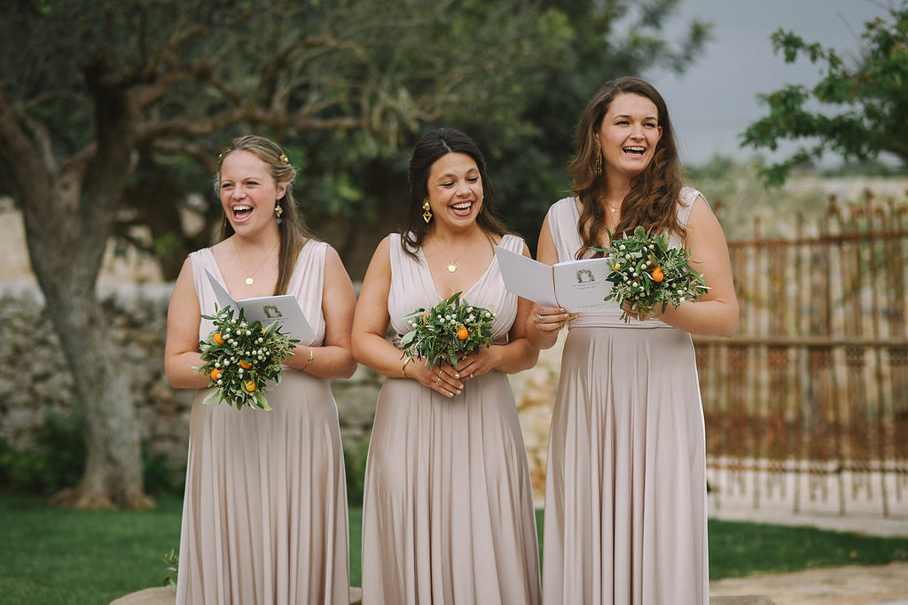 Charming V-neck Grey Jersey A-line Long Cheap Bridesmaid Dresses, BDS0109