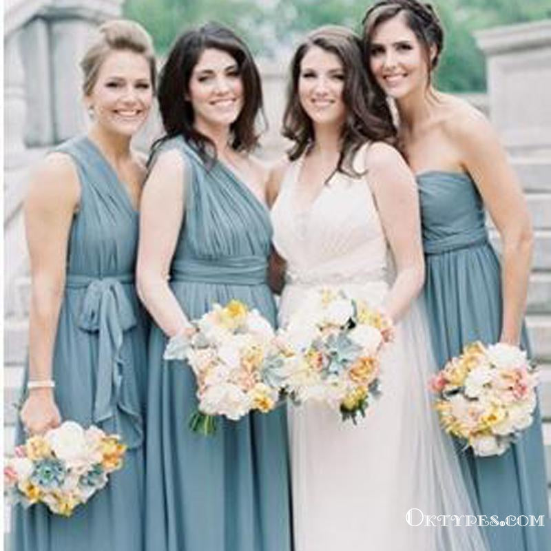Chic Bridesmaid Dresses One for All Dress A-line Tulle Simple Bridesmaid Dresses, TYP1934