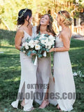 2018 Newest Bridesmaid Dresses, Chiffon Bridesmaid Dresses, Charming Bridesmaid Dresses, TYP0334