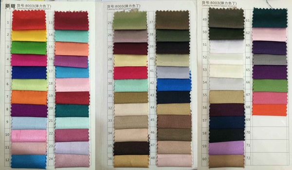 Fabric swatch, Fabric sample.