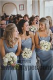 2019 Newest Bridesmaid Dresses, Long Floor Length Jersey Bridesmaid Dresses, TYP0364