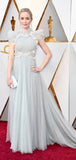 Charming Custom High Neck Cap Sleeve Long Cheap Tulle Prom Dresses, TYP1422