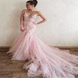 Cheap Prom Dress A-line Simple Modest Pink African Beautiful Long Prom Dress, TYP0404