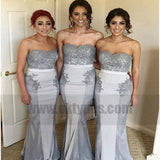 Charming Bridesmaid Dress, Mermaid Lace Bridesmaid Dresses, Sexy Wedding Party Gown, TYP0752