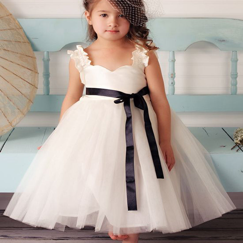 Cute square neck white tulle flower girl dresses online typ1067 cute square neck white tulle flower girl dresses online typ1067 mightylinksfo