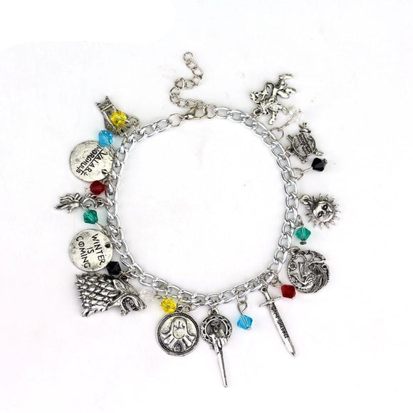 Pulseira Charme -  Game Of Thrones