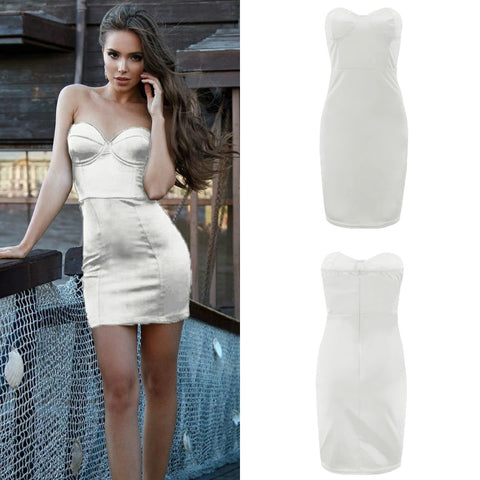 Tube Bodycon Bustier Dress