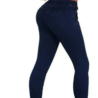 High Waist Stretch Skinny Slim-Fit Pants