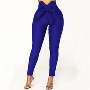 Sexy High Waist Strap Skinny Bodycon Pants