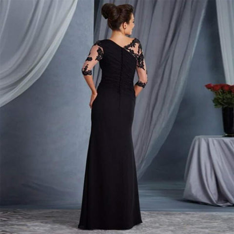 Lace Patchwork Draped?Maxi Dress