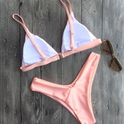 Beach Sling Padded Top Two Pieces Bikini