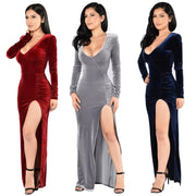 Sexy Christmas Long Evening Party Dress