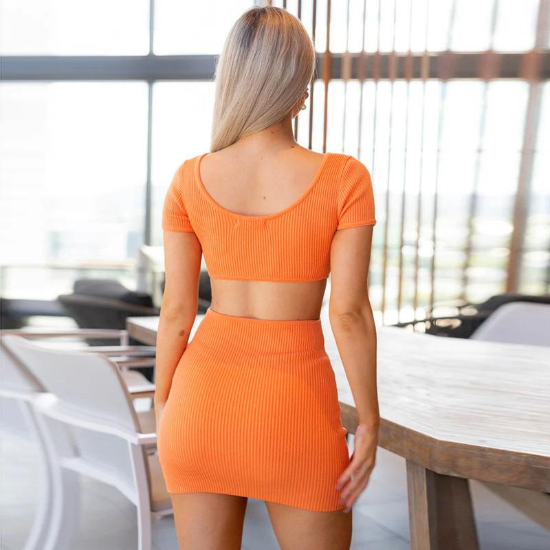 Women's Fashion Hot Open Back Party Dress
