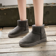 Ankle Flat Simple Warm Winter Boots