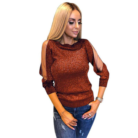Long Sleeves Bright T-shirt