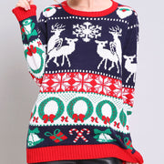 Funny Ugly Christmas Reindeer Sweater