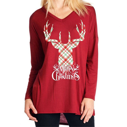 Ugly Christmas Letter Reindeer Sweater?