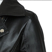 Punk PU Zipper Moto Jacket