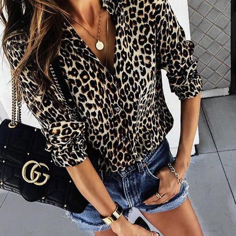 Fashion Print Long Sleeves T-shirt