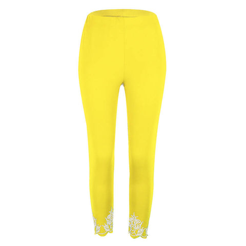 High Waist Stretch Skinny Leggings Pants