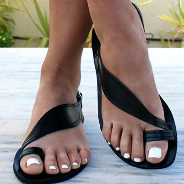 Bunions Strap Simple Flat Sandal