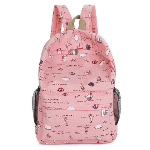 Boys Girls School Large Backpack Zipper Unisex Travel Rucksack Shoulder Laptop Bag New Style Fashion