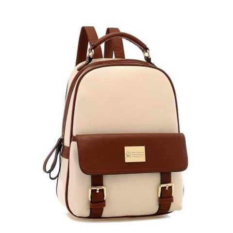 Girls PU School Travel Backpack Bag - MeetYoursFashion - 3