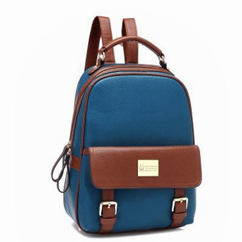Girls PU School Travel Backpack Bag - MeetYoursFashion - 9