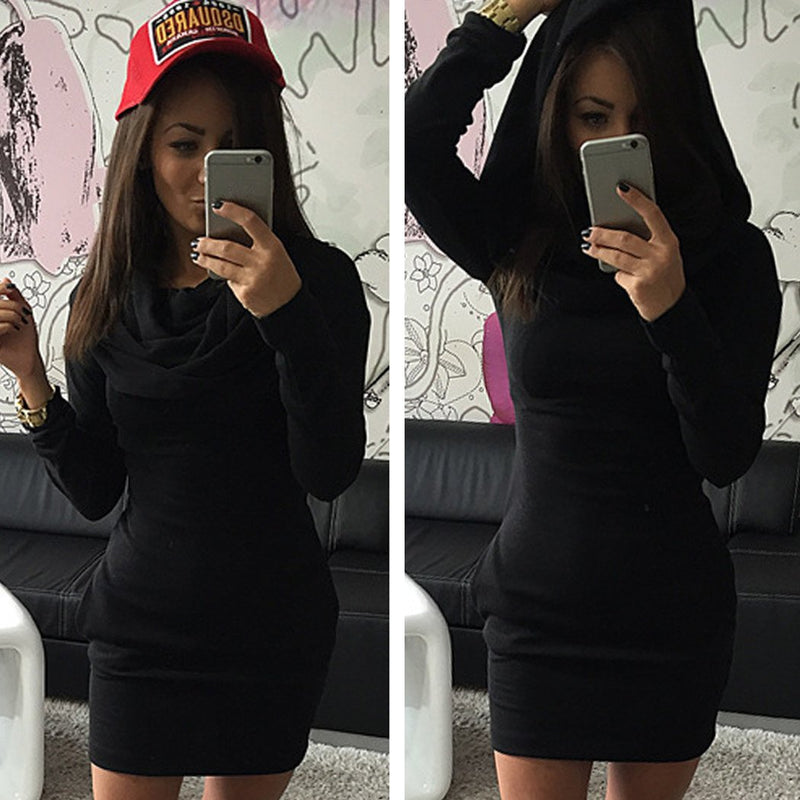 Long Sleeves Bodycon Hooded Short Sweater Activewear - MeetYoursFashion - 6