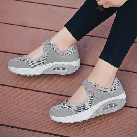 Casual Breathable Slip On Sneakers Flats